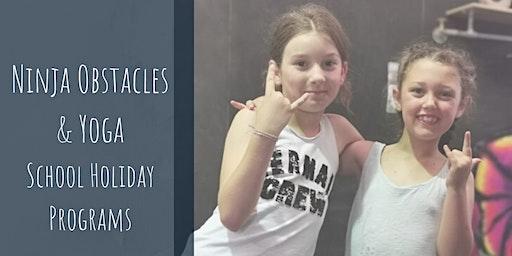 Ninja Obstacles & Yoga- Kids & Teen's Holiday Programs