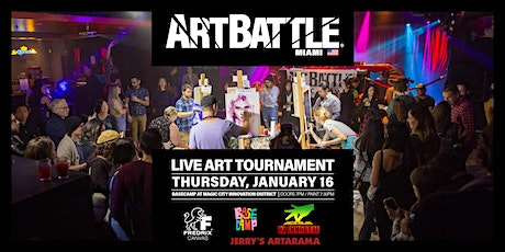 Art Battle Miami - January 16, 2020 tickets