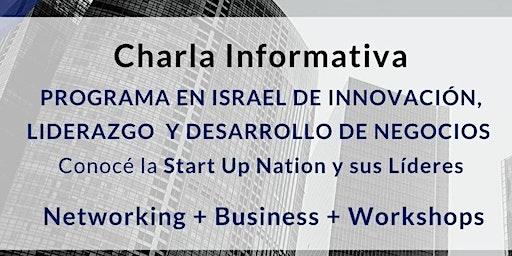 Charla Informativa: Programa Innovation Experience Israel