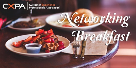 CXPA Austin Networking Breakfast tickets