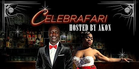 CELEBRAFARI f. AKON & WEBBIE  (African Black Tie Gala) tickets