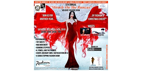 """(Tickets) 5th Annual """"Miracle On The Runway"""": Holiday Fashion Show (MOTR) tickets"""