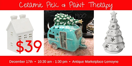 Pick & Paint Lighted Ceramics 12/17 AMP
