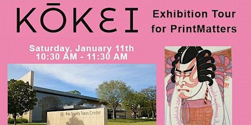 Kokei Print Exhibition Tour for PrintMatters