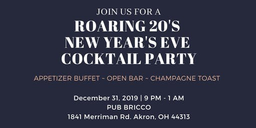 New Year's Eve Party at Pub Bricco