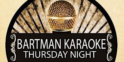 Thursday Night Karaoke with DJ Bartman