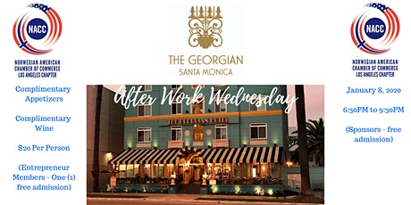 NACC Los Angeles presents: After Work Wednesday - monthly business mixer tickets