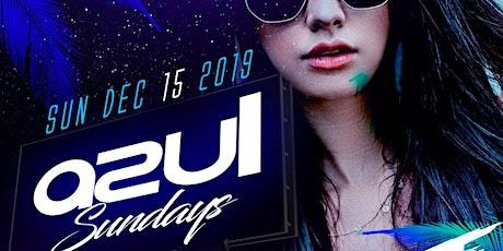 Azul Sundays @ The Valencia Room 12/15 tickets
