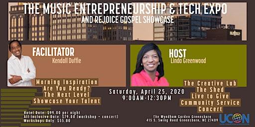 Music Entrepreneurship and Tech Expo and Rejoice Gospel Showcase