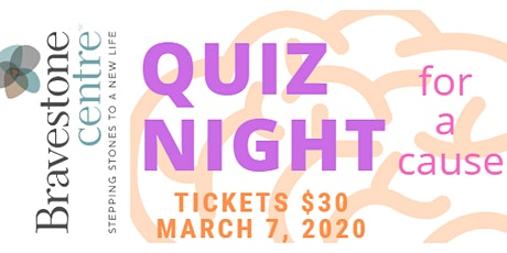 Quiz Night 2020 for Bravestone Centre tickets