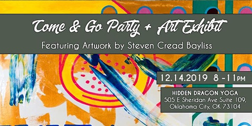 Hidden Dragon Yoga Come & Go Art Show & Holiday Party with Cread Bayliss