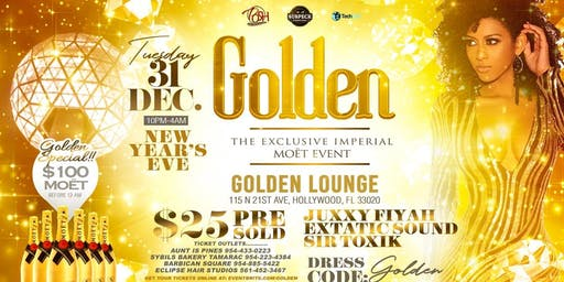 GOLDEN MOËT (NEW YEAR EVE PARTY)