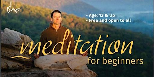 Meditation for Beginners - Isha Kriya (Free Class)