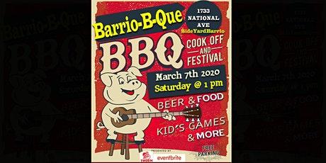 """BBQ  &  BEER FEST  -  """" Barrio-B-Que """" tickets"""