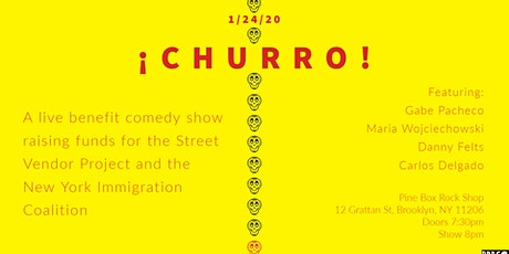 ¡Churro! A Benefit Comedy Show tickets