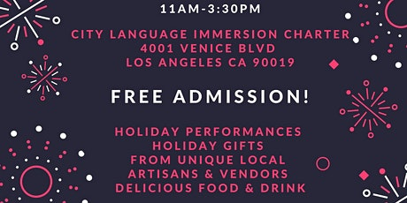 6TH ANNUAL CLIC KERMES AND HOLIDAY BAZAAR tickets