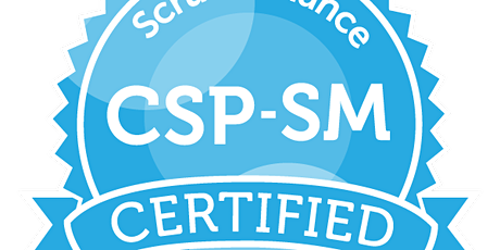 Certified Scrum Professional®-ScrumMaster (CSP®-SM) tickets