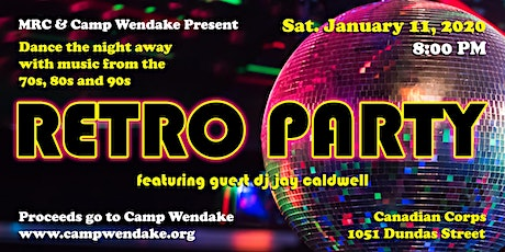 Retro Party (for Camp Wendake) tickets
