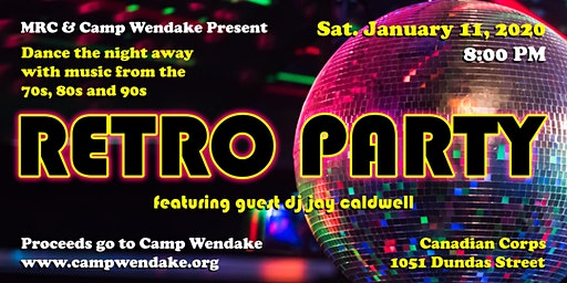 Retro Party (for Camp Wendake)