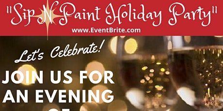 "TOTALFIT LIFESTYLE & SWISS EVENTS PRESENTS ""SIP & PAINT HOLIDAY PARTY"" tickets"