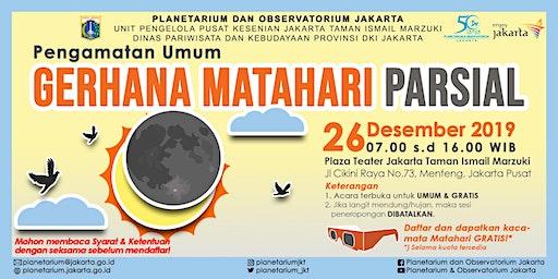 Pengamatan Umum Gerhana Matahari Parsial 2019