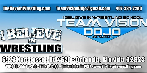 I Believe in Wrestling - Live Family-Friendly Pro Wrestling