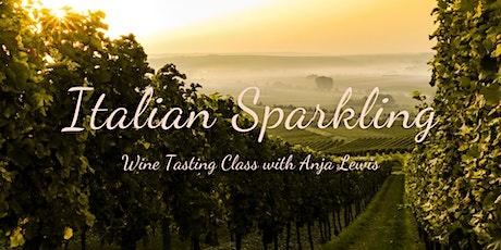 Italian Sparkling - Wine Tasting Class tickets