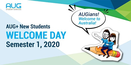 AUG+ Adelaide New Students Welcome Day tickets
