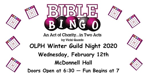 OLPH Winter Guild Night 2020-Bible Bingo