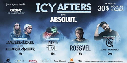 Icy Afters  with CastNowski, Stoned Level B2B Cdr3mer, Rossvel & More