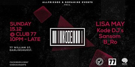 KODE #29 Ft. Lisa May tickets