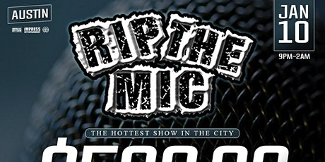RIP THE MIC LIVE @ CLUB LATINOS (AUSTIN, TX) tickets