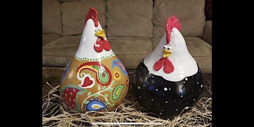 Chicken Gourd Painting 2/1