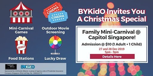 A Christmas Special - Family Mini-Carnival Experience at Capitol Singapore!