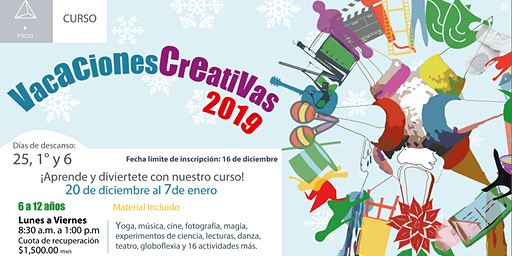 Vacaciones Creativas 2019