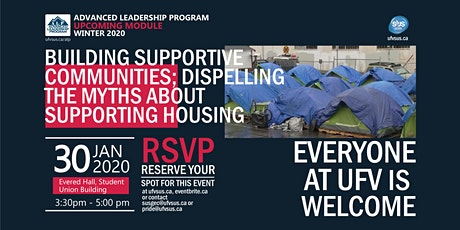 ALP Module: BUILDING SUPPORTIVE COMMUNITIES; MYTHS ABOUT SUPPORTING HOUSING tickets