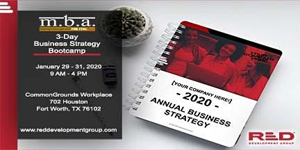 M.B.A. for CEOs 3-Day Business Strategies Bootcamp