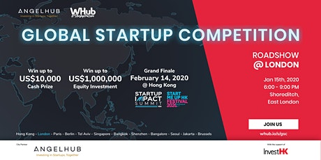 Global Startup Competition - London roadshow - AngelHub & WHub tickets