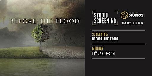 Studio Screening: Before The Flood