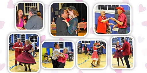 Sweetheart Swing Dance, with the 17-piece Silver Tones Swing Band