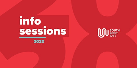 SWTAFE Colac Campus 2020 Info Sessions tickets