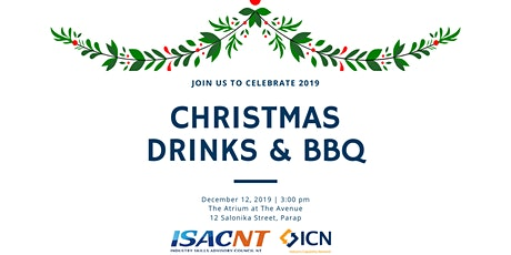 ISACNT & ICN NT Christmas Drinks & BBQ tickets