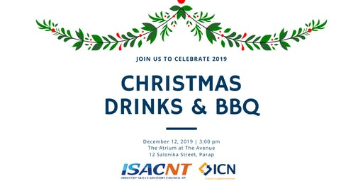 ISACNT & ICN NT Christmas Drinks & BBQ