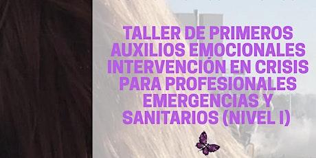 Primeros Auxilios Psicológicos para intervinientes emergencias/urgencias entradas