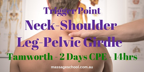 Trigger Points: Neck, Shoulder, Leg & Pelvic Girdle - Tamworth - CPE Event (14hrs) tickets