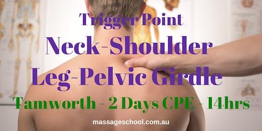 Trigger Points: Neck, Shoulder, Leg & Pelvic Girdle - Tamworth - CPE Event (14hrs)