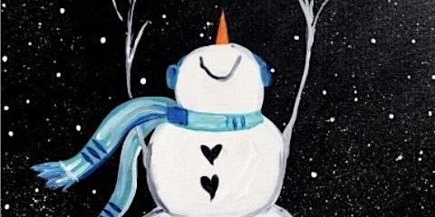 Paint with Ashley Blake Snowman Jan. 6