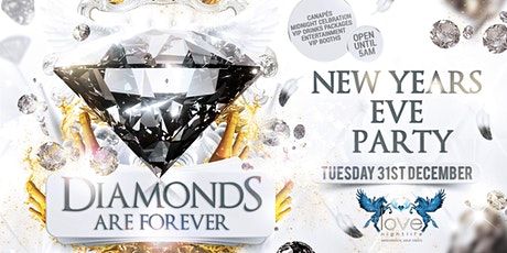 Diamonds are Forever NYE Party tickets
