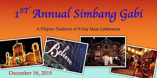 1st Annual Simbang Gabi at UC Davis Health