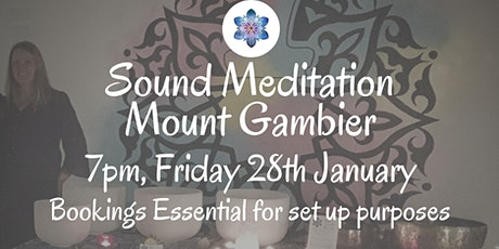 Sound Meditation ~ Mount Gambier tickets